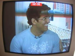 Bubbles na TV Bahia