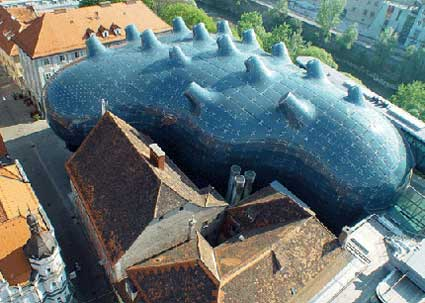 A Casa de Cultura da cidade austríaca de Graz