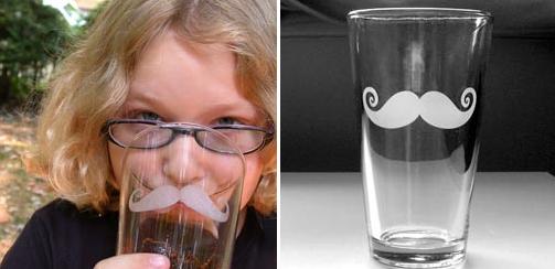 copo de bigodinho