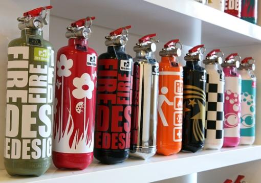 extintores com arte