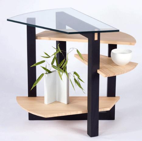 mesa em degraus