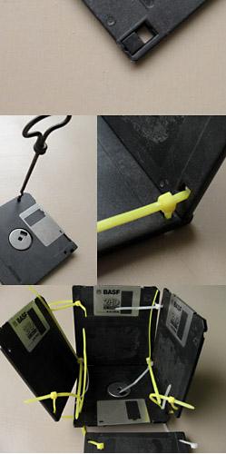 porta lapis disquete1