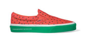 sapato melancia