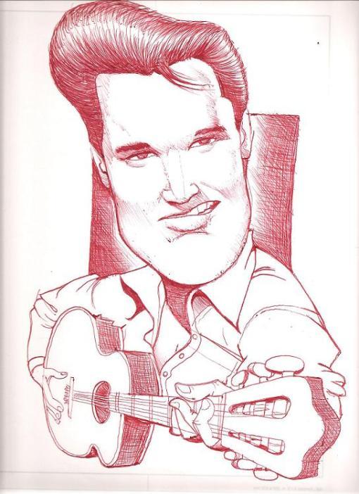 Elvis Presley por André Aguiar