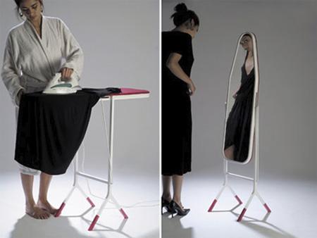 espelho de passar roupa