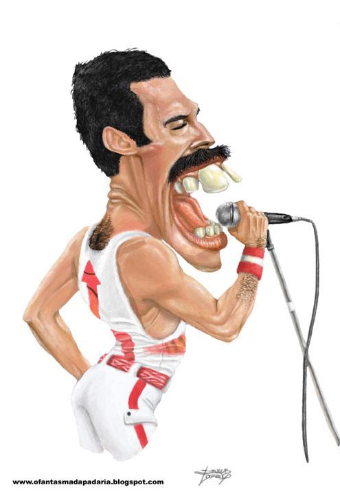 Freddie Mercury por Douglas Lourenço