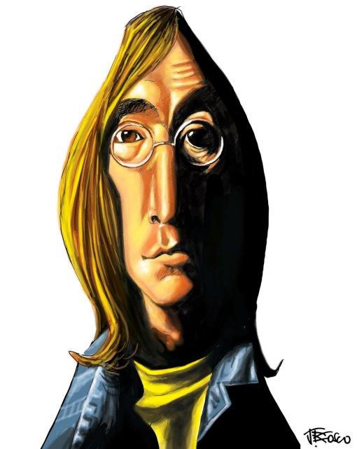 Jonh Lennon por J. Bosco