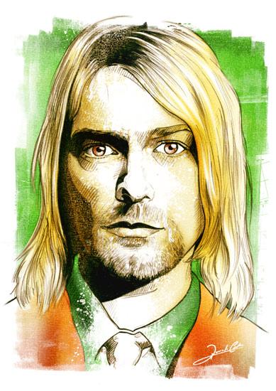 Kurt Cobain por Renato Cunha