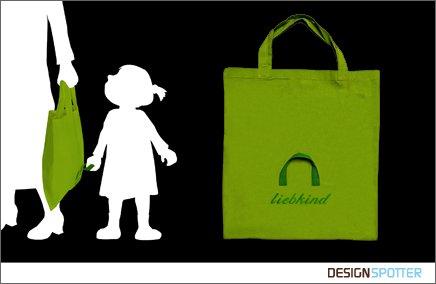 sacola compras com filho